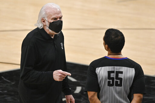 Spurs game at Detroit called off over virus-related concerns