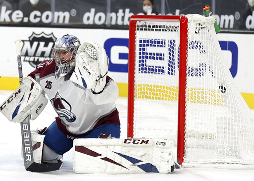 Kadri scores with 41 seconds left, Avalanche edge Vegas 3-2