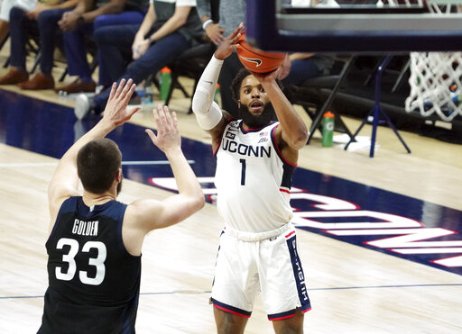 The Latest: UConn postpones 2 men's basketball games