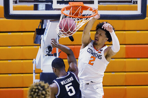 Cunningham's 15 lead No. 23 Oklahoma St. past Kansas St.