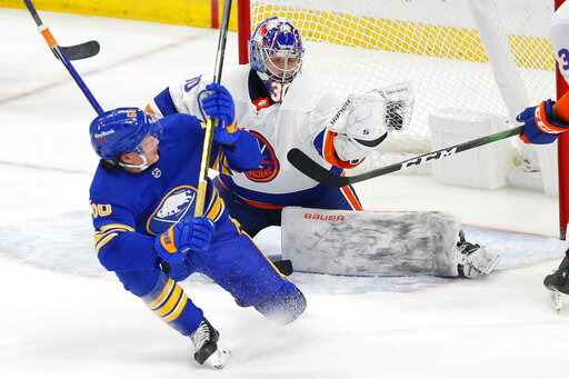 Isles beat Buffalo 3-0, complete 2-game sweep of Sabres