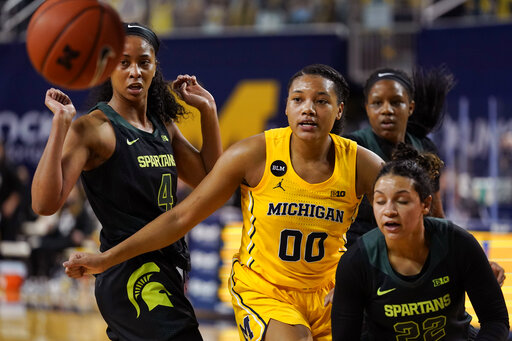 Hillmon, No. 11 Michigan women beat rival Michigan State