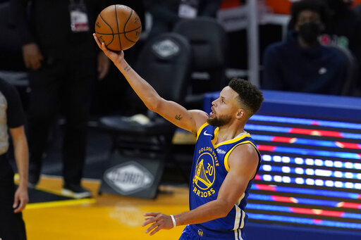 Curry nets 36, Warriors deal Cavs 8th straight loss, 129-98