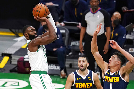 Brown scores 27, Celtics outlast Jokic, Nuggets 112-99