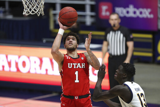 Utah wins 76-75, Cal misses 1 of 2 FTs with 0.7 seconds left