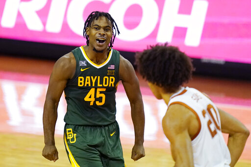 No. 2 Baylor set to resume play Feb. 23 after COVID-19 pause