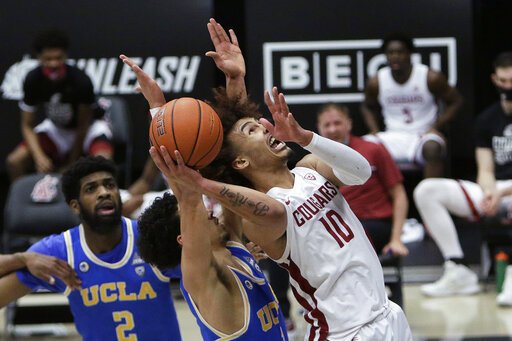 Bonton has 26, Washington St holds off UCLA 81-73