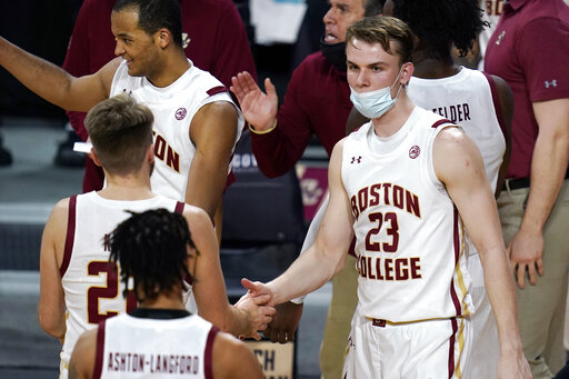 With roster thinned, BC has turned to walk-on 'Martians'