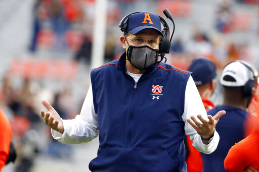 AP source: UCF close to hiring ex-Auburn coach Malzahn