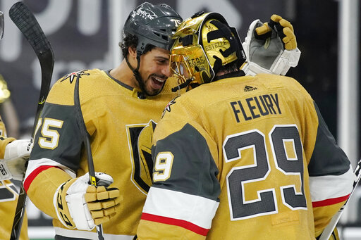 Pacioretty's goal, Fleury's saves lead Vegas to 1-0 win