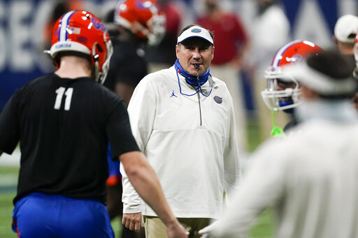 Mullen focuses on Florida amid college football concerns