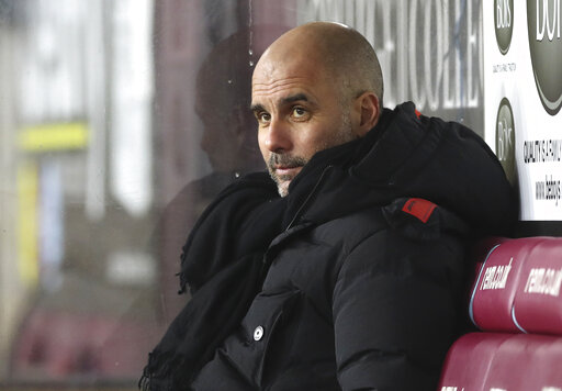 Guardiola worried virus cases in soccer could soar in March