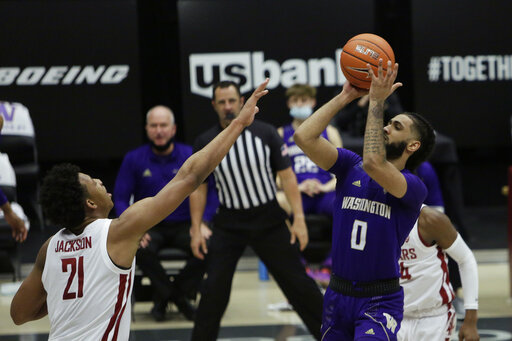 Tsohonis scores 29, hits winner as Washington nips rival WSU
