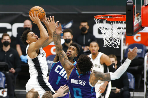 Spurs, Hornets have more games called over virus concerns