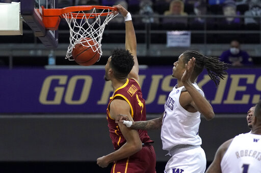 Mobley brothers power No. 20 Southern Cal past Washington
